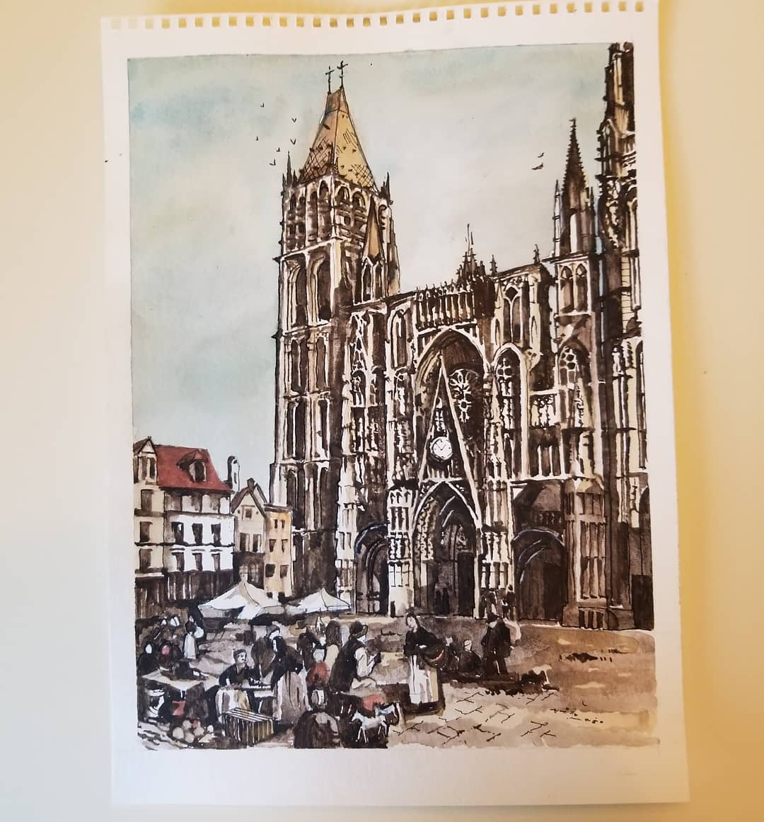Rouen Cathedral — Rouen, Normandy — Karl Willms
